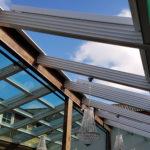 sliding roof system